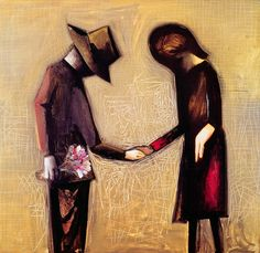 """Charles Blackman """"The Angelus"""" from Etching House Australian Painters, Australian Artists, Alice In Wonderland Series, Sidney Nolan, Tate Gallery, Gallery Wall, Art Society, Limited Edition Prints, Figurative Art"""