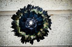 Hey, I found this really awesome Etsy listing at https://www.etsy.com/listing/123677015/black-bouquet-gothic-feather-bouquet