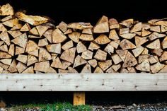 winter heat Firewood, Farmhouse, Texture, Winter, Crafts, Surface Finish, Winter Time, Woodburning, Manualidades