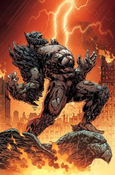 Dark Nights: Metal features seven evil incarnations of Batman and now DC Comics has revealed the Doomsday inspired behemoth known as The Devastator. This guy looks even more brutal than Superman's nemesis! Comic Villains, Comic Book Characters, Comic Character, Comic Books Art, Arte Dc Comics, Dc Comics Art, Batman Metal, Batman Art, Evil Batman
