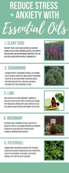 Essential Oils For Anxiety And Stress 5 Ways to De-stress at the End of the Day. One of the best ways to find a nice balance is to use essential oils for anxiety and stress. Calming Essential Oils, Essential Oils For Anxiety, Clary Sage Essential Oil, Cedarwood Essential Oil, Best Essential Oils, Essential Oil Blends, Cedarwood Oil, Deal With Anxiety, Anxiety Tips