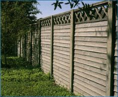 Precast Concrete Fencing used with Acoustifence to decrease noise