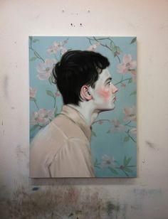 Kris Knight Painting