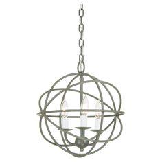 Globe 3 Light Pendant
