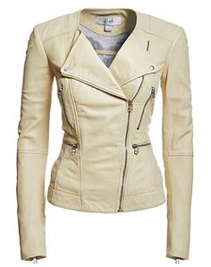Style # 104030556. Stylish leather Jacket with Lapel and slim silhouette. #Danier #mothersday