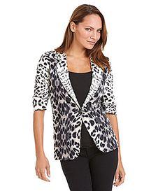 Karen Kane LeopardPrint Blazer #Dillards