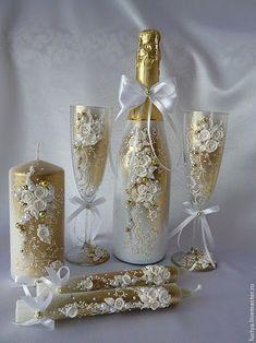 Image result for Свадебное шампанское своими руками