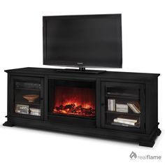 smokeless portable fireplaces | Bentley Electric Fireplace - 4100E- Quality furniture finish -Portable ...