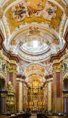 Abbey of Melk in Lower Austria, which is among the world's most famous monastic…
