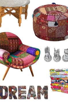 Awaken your creative side with an infusion of Bohemian inspired décor. We've curated an assortment of eclectic picks to help you express your style with freedom and personality. Introduce bright colors, vibrant patterns, and whimsical shapes into your abode. Experiment with dreamy textiles and adopt a calming buddha or elephant figurine for your bookshelf or bedside table. Have some fun with it. Go ahead.