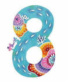 紅型体験 特別編 絵柄4(数字) | コジーサの画帖 Japanese Patterns, Japanese Art, Yayoi, Super Moon, Okinawa, Arts And Crafts, Nursery, Symbols, Bingo
