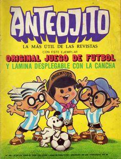 Las portadas de Anteojito junto a Mundialito!