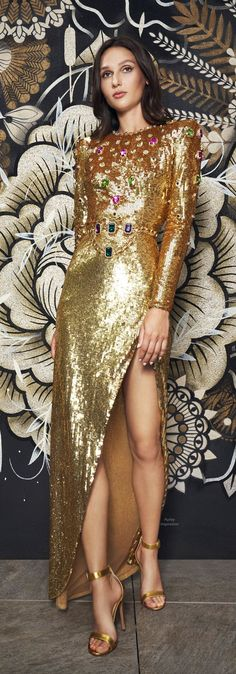 Designer Collection, Editorial Fashion, Evening Gowns, Ready To Wear, Sequin Skirt, Dress Up, Feminine, Street Style, Couture
