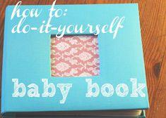 how to diy babybook