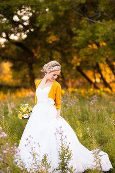 Wedding Gown - Mori Lee by Madeline Gardner |  More wedding inspiration on  http://www.StyleMePretty.com/canada-weddings/manitoba/winnipeg/2013/08/30/rustic-chic-winnipeg-wedding-styled-shoot-by-tina-wiebe-photography/ Photography: Tina Wiebe