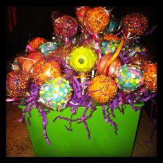 Halloween/Birthday Cake Pop Bouquet  C Adams creations!!