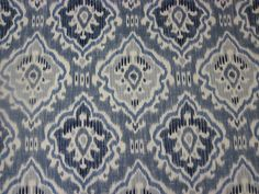 WILLIAM YEOWARD FABRIC DESIGN  Saphia  2.3  METRES x 1.21 METRES OCEAN FW135/03