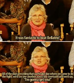 Then when she revealed that she ~really~ got into character on set. | 17 Times Julie Walters Proved She's The True Queen Of Britain