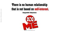 There is no human relationship… – Quotes 2 Remember