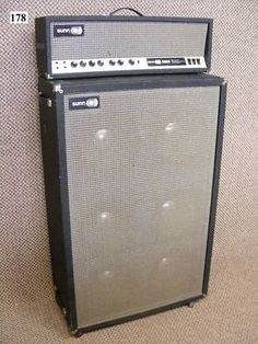 SUNN 1200S 1970 amplifier and 6X12 cabinet 1968 Price! | Reverb