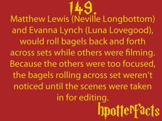 i already knew this, but seriously..so many hp actors waste so much money doing silly things! like when the twins swapped places and they had to retake the scenes!