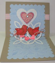 "Image detail for -Over the Top"" Handmade Valentine Cards 