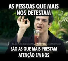 Verdade neh non? Best Quotes, Funny Quotes, Funny Memes, Jokes, Quotes About Everything, Frases Humor, Fake Friends, Try Not To Laugh, Crazy People