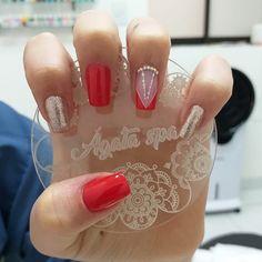 French Nails, Manicure, Hair Beauty, Make Up, Nail Art, Gel Nail, Beauty Tips, Work Nails, Vestidos
