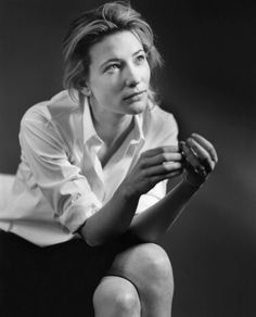 Cate Blanchett, London, photographed by Bruce Weber for Italian Vogue.