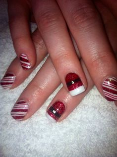 Candy canes & Santa!