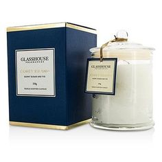 Triple Scented Candle - Coney Island (Burnt Sugar & Fig) - 350g