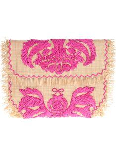 Anya Hindmarch Woven Embroidered Clutch - Eraldo - Farfetch.com