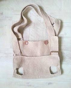 Risultati immagini per pet bag crochet