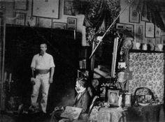 Fotografía anónima de Albert Letchford retratando a Sir Richard Francis Burton, agosto de 1889.