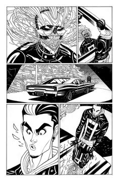 "Tradd Moore–""All-New Ghost Rider"""
