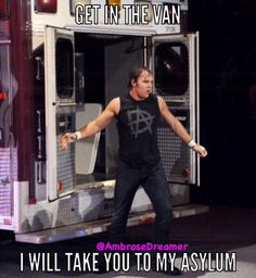 *Asks no questions and jumps into the van*  TAKE ME TO YOUR ASYLUM Credit to Ambrose Dreamer