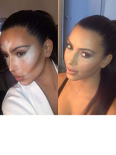 Kim Kardashian shares make-up tips!