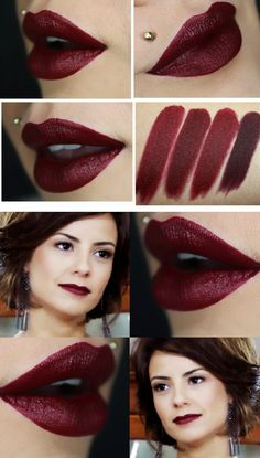 Gorgeous Wine Lipstick # Need This Lips / Maria Clara Actress Super Godess