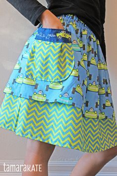 start your engines skirt tutorial