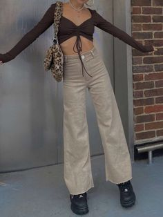 Adrette Outfits, Indie Outfits, Retro Outfits, Cute Casual Outfits, Vintage Outfits, Fashion Outfits, Stylish Outfits, Aesthetic Fashion, Look Fashion
