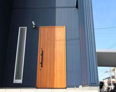 高断熱の国産木製玄関ドア MIYAMA桧玄関ドアシリーズ(片開き) Miyama, Curtains, Doors, House, Home Decor, Blinds, Decoration Home, Home, Room Decor