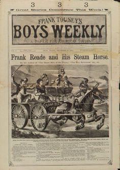 Frank Reade and His Steam Horse 1882