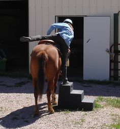 Learn to Mount & Dismount from Both Sides of Your Horse Horse Mounting Block, Natural Horsemanship, Both Sides, Horse Training, Horse Photography, Horse Care, Beautiful Horses, Wild West, In A Heartbeat