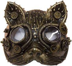 Steampunk Cat, Steampunk Animals, Steampunk Costume, Steampunk Clothing, Steampunk Fashion, Fashion Goth, Steampunk Artwork, Popular Costumes, Buy Costumes