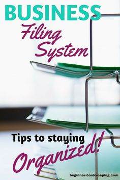 How to set up your business filing system so you can find your documents fast. Tips for getting your office papers organized. organization business How to Organize a Proven Business Filing System Diy Organisation, Office Desk Organization, Small Business Organization, Organizing Paperwork, Organizing Ideas, Organized Office, Organising, Business Money, Business Planning