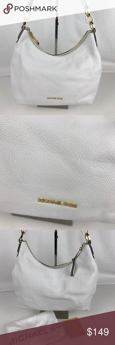 """Michael Kors Isabella Convertible Shoulder Bag Authentic. New with Tag and dust bag. A couple of small marks on exterior due to handling. See photos.  Pebbled leather shapes this stylish slouchy silhouette. Top handle, 11.5"""". Shoulder strap. Top Zip Closure. 14.5""""W x 10.5""""H x 5""""D. Style 30S6GIRL2L. Our bag # RB594  Thank you for your interest!  PLEASE - NO TRADES / NO LOW BALL OFFERS / NO OFFERS IN COMMENTS - USE THE OFFER LINK :-) Michael Kors Bags Shoulder Bags"""