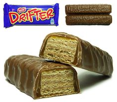 Drifter~We used to get this delivered with our milk and Mum would cut it so we could all have a little piece...so yummy!