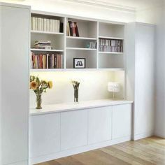 Dinning Room Cabinet, Living Room Built In Cabinets, Built In Bar Cabinet, Living Room Built Ins, Living Room Wall Units, Bookshelves In Living Room, Dining Room Storage, Dining Room Walls, Ikea Wall Cabinets