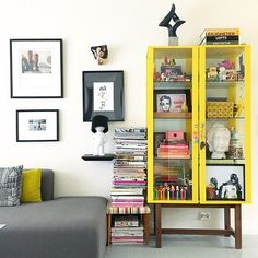 Ikea 'Stockholm' display cabinet @bypiapei