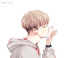Fanart, jinhwan, and ikon image Kpop Fanart, Bobby, Chanyeol, Divergent Fan Art, Read Anime, Kpop Drawings, Cartoon Faces, Cute Chibi, Boy Art